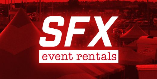 sfx event rental logo